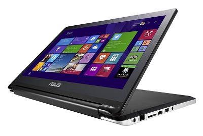 Flip TP500LA-DH71T 2 in 1 15.6 Inch Touchscreen Core i7-4510U Laptop (Black)