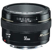 EF 50mm F/1.4 USM Lens, With Canon 1-Year USA Warranty