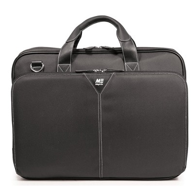Premium Ballistic Nylon 16` Black Laptop Briefcase