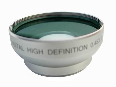 Professional .45X Wide Angle Lens w/ Macro - 25MM