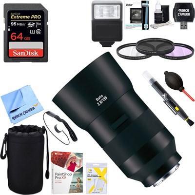 Batis 135mm f/2.8 Lens for Sony E Mount + 64GB Ultimate Kit
