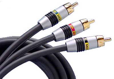 Video 3 High-Resolution Component Video Cable 2 Meter (6.56 Ft.)