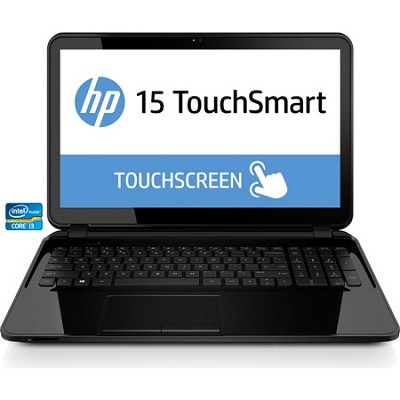 TouchSmart 15-r050nr 15.6` HD Notebook PC - Intel Core i3-3217U Pro - OPEN BOX
