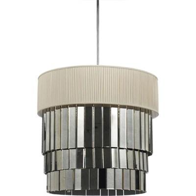 Garbo Six Light Pendant in Ivory - 8231-6H