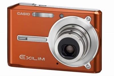 Exilim EX-S600 SUPER Slim Digital Camera (Electric Orange)