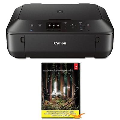 PIXMA MG5520 Wireless Inkjet Photo All-in-One + Adobe Photoshop Lightroom 5