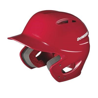 DeMarini Paradox Protege Pro Batting Helmet in Scarlet - WTD5404SCSM