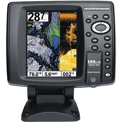 688ci HD DI 5` Color Screen GPS/Sonar Combo Fishfinder