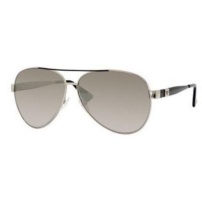 Light Gold Black Sunglasses