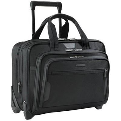 @ Work Medium Expandable Rolling 15.6` Laptop Briefcase - KR250X (Black)