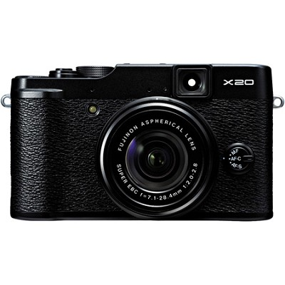 X20 12MP Digital Camera - Black