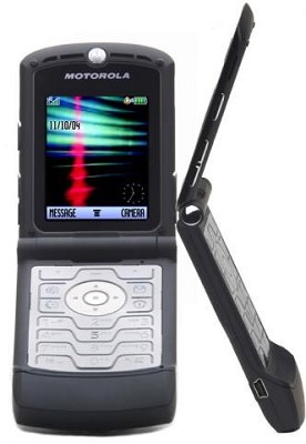 V3 Razr Unlocked GSM Black Edition (US compatible)