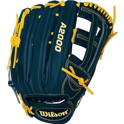 A2000 Ryan Braun Game Model Fielder Glove - Right Hand Throw - Size 12.75`