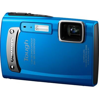 Tough TG-310 14 MP Waterproof Shockproof Digital Camera - Blue - REFURBISHED