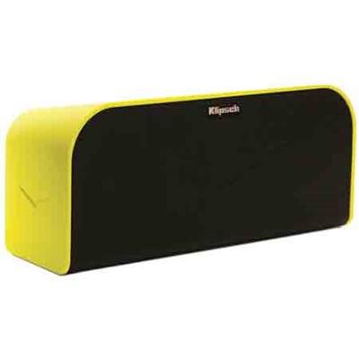 Music Center KMC 1 Portable Speaker System - Yellow- REFURBISHED