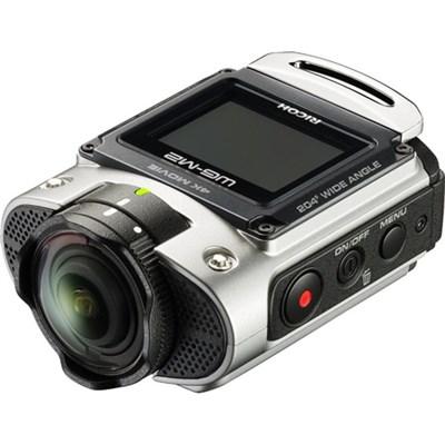 WG-M2 Compact Waterproof Wi-Fi Full 4K Action Silver Digital Camera - OPEN BOX