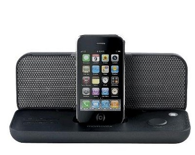 PurePlay Portable Speaker for iPod and iPhone (Black)