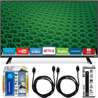 D40-D1 - D-Series 40-inch Full-Array LED Smart HDTV Essential Accessory Bundle