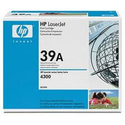 Color Laserjet 4300 Series Smart Print Cartridge, Yellow open box