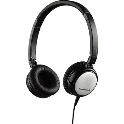 Lightweight Portable Headphone with Carry Case for Mobile Use (Black) - DTX 501p