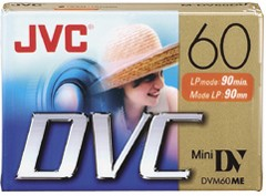 Mini DV 60-Minute Digital Video Cassette