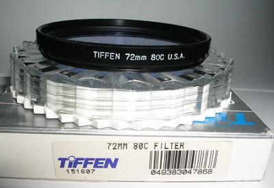 72mm 80C Filter