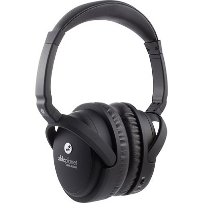 True Fidelity Around-the-Ear Active Noise Canceling Headphones (Black)