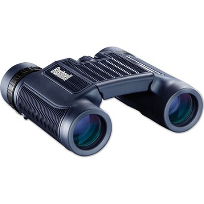 H2O Waterproof Compact Roof Prism Binocular 10 x 25mm - Black