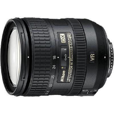 AF-S DX NIKKOR 16-85mm f/3.5-5.6G ED VR Lens w/ Nikon 5-Year USA Warranty