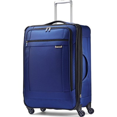 SoLyte 25` Expandable Spinner Upright Suitcase Luggage - True Blue