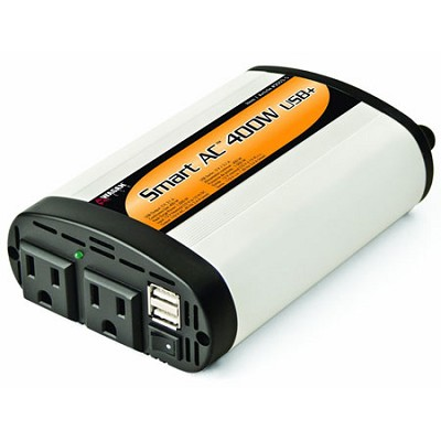 400 Watt Continuous Power Inverter with 5V 2.1 Amp USB Charging Ports - 2003-5