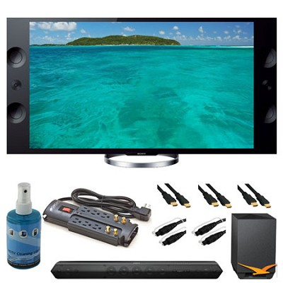 XBR-65X900A 65` 4K HDTV and Sound Bar Bundle