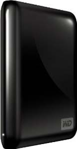 WD My Passport Essential 500 GB USB 2.0 Portable External Hard Drive Black]