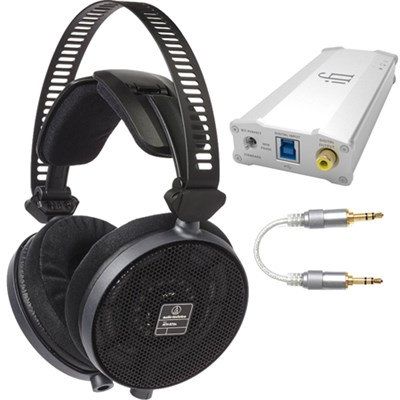 R70X Professional Open-Back Reference Headphones + iDAC2 USB AMP