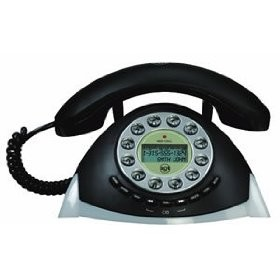 29271RE3  Corded Retro Phone with Call Waiting/Caller ID
