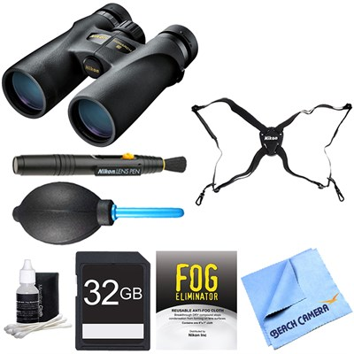 7540 Monarch 3 Binoculars 8x42 Adventure Bundle