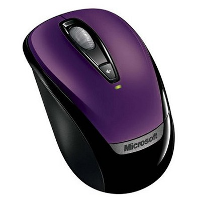 Wireless Mobile Mouse 3000 Purple WINXP / Vista HW US Only