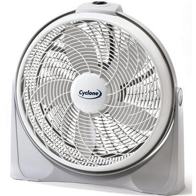 3520 20` Cyclone Pivoting Floor Fan      **NEW TORN BOX**