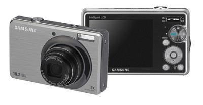 SL420 10MP/ 5X OPT/ MPEG4 Movie/ 2.7` LCD Digital Camera (Silver)