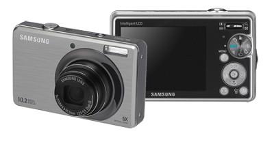 SL420 10MP/ 5X OPT/ MPEG4 Movie/ 2.7` LCD Digital Camera (Silver)