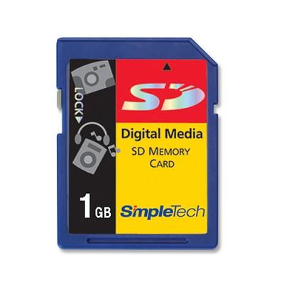 1 GB SECURE DIGITAL {SD} MEMORY  ( A Necessity)