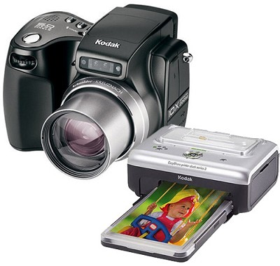 Easyshare Z7590 Digital Camera with Printer Dock 3 Bundle