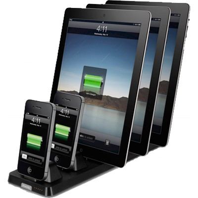 InCharge X5 Docking Station for iPod/iPhone/iPad - Black - OPEN BOX