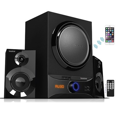 BT-209FB Wireless Bluetooth Speaker System, Powerful Sound & Bass