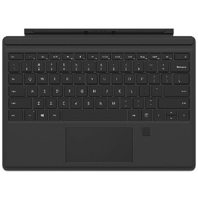 Surface Pro 4 Type Cover with Fingerprint ID (Black)