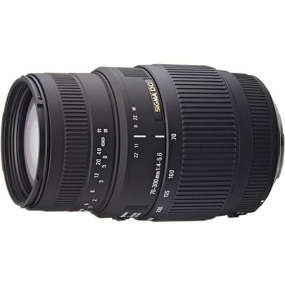 70-300mm f/4-5.6 SLD DG Macro Telephoto Lens for Nikon Digital SLRs