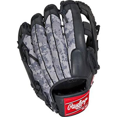 Gamer Series Digi Camo Mesh Pro H Baseball Glove - Black/Gray, Left Hand Throw