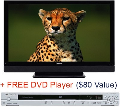 PDP-6070HD 60` PureVision Plasma  HDTV Television (Plus FREE Pioneer DVD Player)