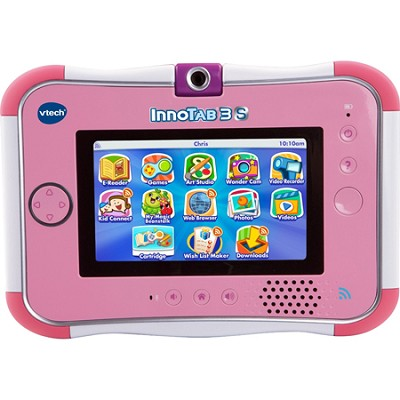 InnoTab 3S The Wi-Fi Learning Tablet, Pink (80-158850)