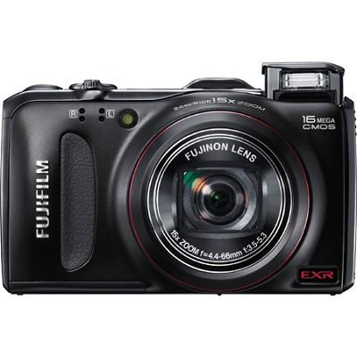 FinePix F550EXR 16 MP CMOS Digital Camera w/ 15x Super Wide Angle -REFURBISHED